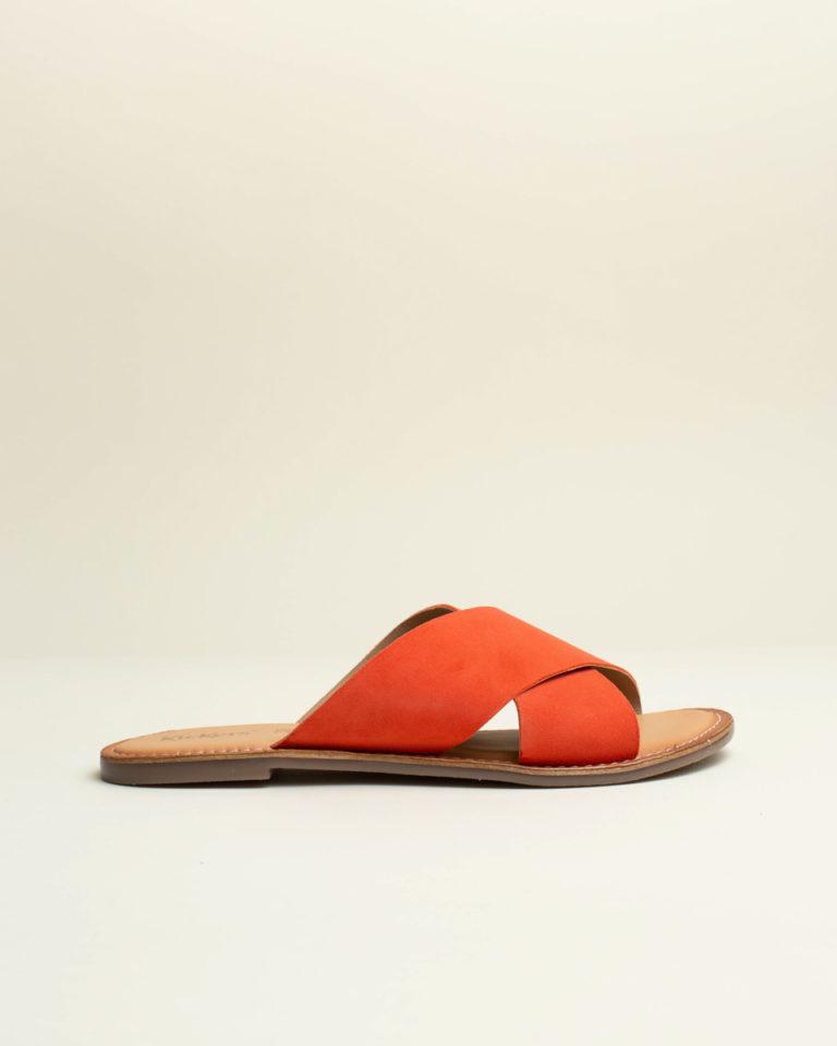 Sandalia Baja Kickers - Naranja