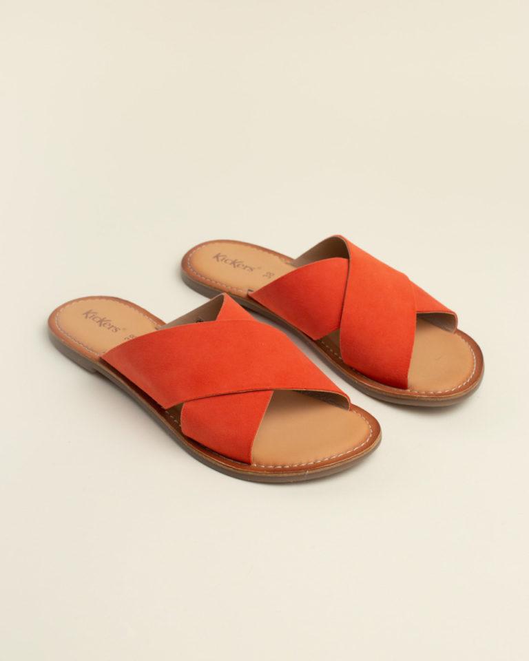 Zapato hebillas Primigi naranja