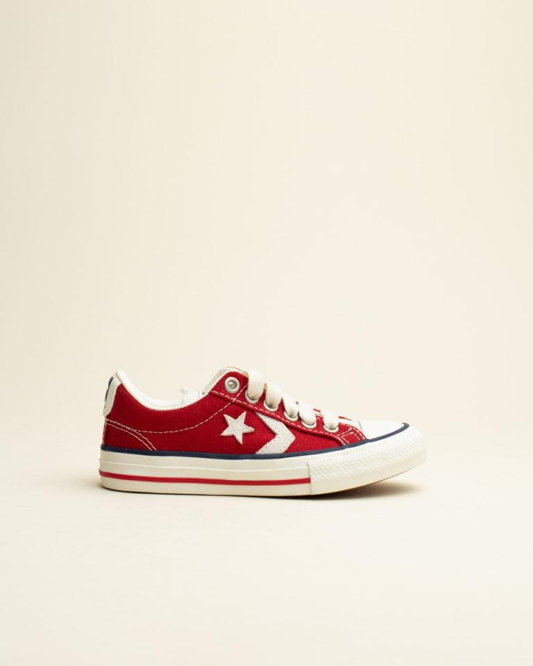 Zapatilla Cordon Converse - Rojo
