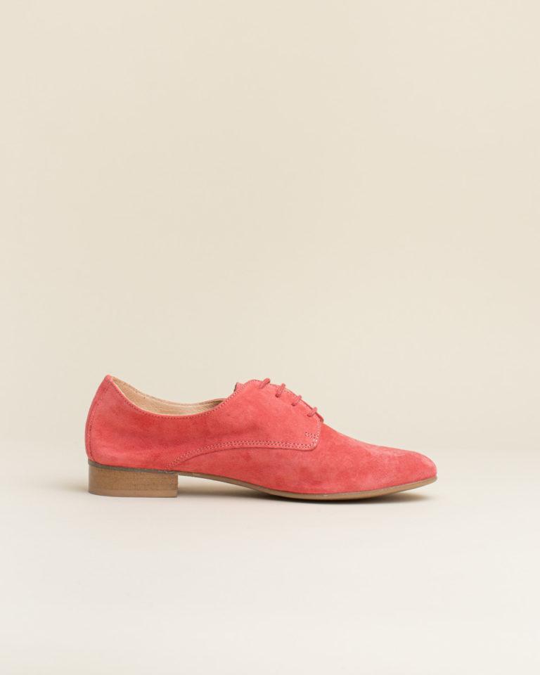 Zapato Cordon Wedo - Coral