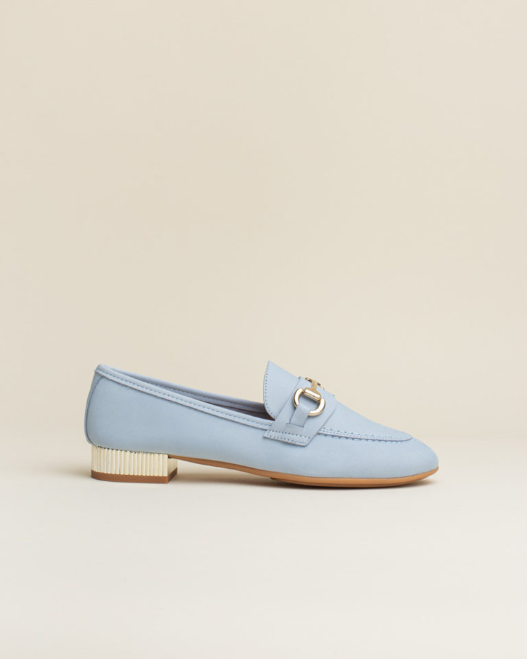 Zapato Mocasin Sabrinas - Azul Celeste