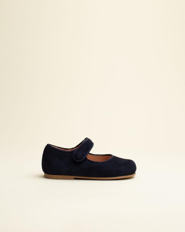 Zapato Merceditas Botón Ruths - Azul