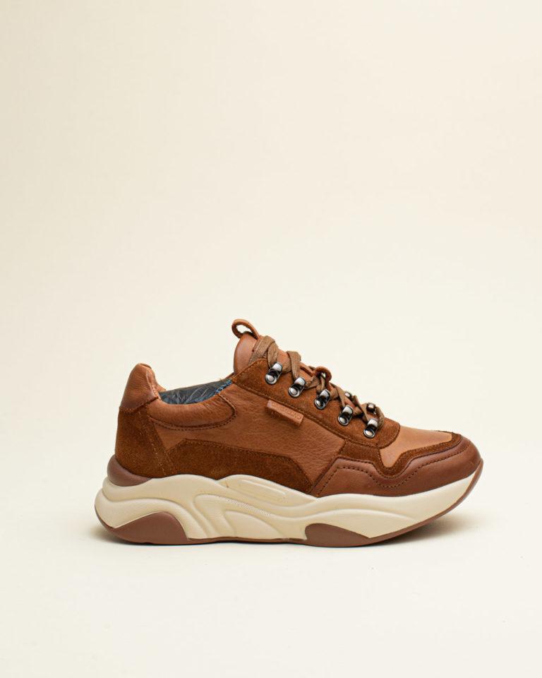 Zapato Cordón Carmela - Cuero