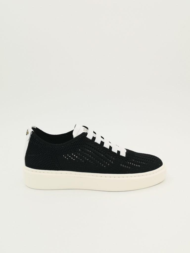 Deportivo elasticos negro